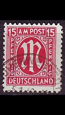 Buy GERMANY Alliiert AmBri [1945] MiNr 0024 B ( O/used )