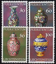 Buy LIECHTENSTEIN [1974] MiNr 0602-05 ( **/mnh ) Kunst