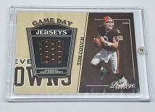Buy NFL TIM COUCH BROWNS 2004 PLAYOFF PRESTIGE GAME-WORN JERSEY MINT