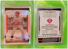 Buy MLB RAUL IBANEZ PHILLIES 2009 TOPPS FINEST REFRACTOR #104 MNT
