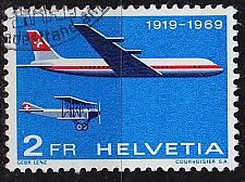 Buy SCHWEIZ SWITZERLAND [1969] MiNr 0899 ( O/used ) Flugzeuge