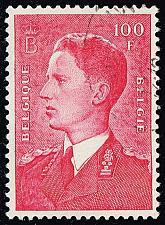 Buy Belgium #450 King Baudouin; Used (0.25) (4Stars) |BEL0450-02XRS