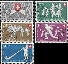 Buy SCHWEIZ SWITZERLAND [1951] MiNr 0555-59 ( O/used ) [02] Pro Patria