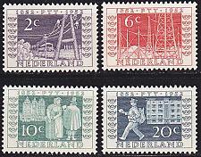 Buy NIEDERLANDE NETHERLANDS [1952] MiNr 0593-96 ( */mh ) Briefmarken