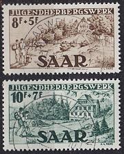 Buy GERMANY Saar [1949] MiNr 0262-63 ( O/used ) [02]
