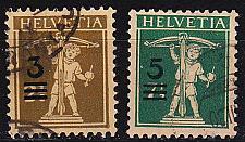 Buy SCHWEIZ SWITZERLAND [1930] MiNr 0239-40 ( O/used )