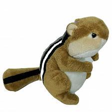 "Buy Ganz Webkinz Chipmunk Brown Gray Rodent Plush Stuffed Animal HM217 No Code 7.25"""