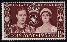 Buy Great Britain #234 George VI and Elizabeth; Unused (0.25) (3Stars)  GBR0234-06XRS