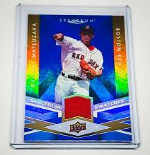 Buy MLB DAISUKE MATSUZAKA BOSTON RED SOX 2009 UPPER DECK SPECTRUM GAME-WORN JERSEY