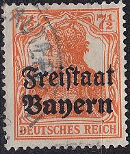 Buy GERMANY Bayern Bavaria [1919] MiNr 0139 ( O/used )