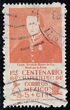 Buy Mexico #831 Cadet Fernando Montes de Oca; Used (0.25) (3Stars) |MEX0831-02XRS