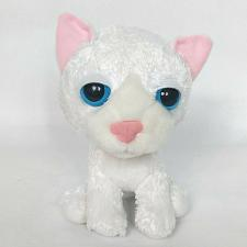 Buy Artlist Collection The Cat Sleepy Eyes White Plush Stuffed Animal 7""