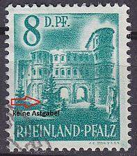 Buy GERMANY Alliiert Franz. Zone [RheinlPfalz] MiNr 0018 y IV ( O/used )