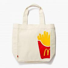 Buy New McDonald World Famous Fries Tote Bag Limited Natural Canvas Free Shipping