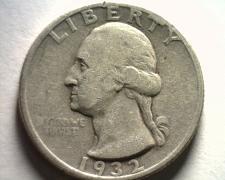 Buy 1932 WASHINGTON QUARTER VERY FINE / EXTRA FINE VF/XF VERY FINE / EXTREMELY FINE