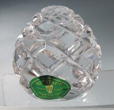 Buy Heritage Irish crystal Hand cut paperweight glass