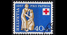 Buy SCHWEIZ SWITZERLAND [1957] MiNr 0645 ( O/used ) Pro Patria