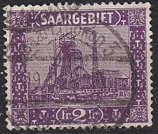 Buy GERMANY Saar [1922] MiNr 0095 ( O/used )