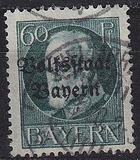 Buy GERMANY Bayern Bavaria [1919] MiNr 0126 A ( O/used )