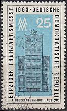 Buy GERMANY DDR [1963] MiNr 0949 ( OO/used ) Bauwerke