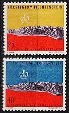 Buy LIECHTENSTEIN [1958] MiNr 0369-70 ( **/mnh ) Landschaft