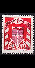 Buy GERMANY Saar [Dienst] MiNr 0033 ( O/used )