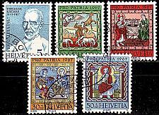 Buy SCHWEIZ SWITZERLAND [1967] MiNr 0853-57 ( O/used ) Pro Patria