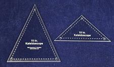 "Buy 2 Pc Kaleidoscope Set For 10"" Finished Square W/holes & Seam Allowance-1/8"
