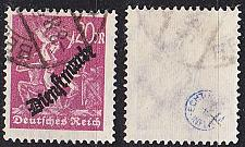 Buy GERMANY REICH Dienst [1923] MiNr 0075 ( O/used ) [03]