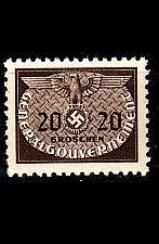 Buy GERMANY REICH GenGouv [Dienst] MiNr 0020 ( **/mnh )