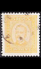 Buy PORTUGAL [1892] MiNr 0066 yA ( O/used )