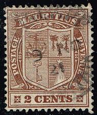 Buy Mauritius #138 Coat of Arms; Used (0.25) (3Stars) |MAU0138-07XRS