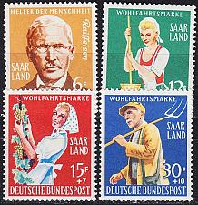 Buy GERMANY Saar [1957] MiNr 0441-44 ( **/mnh )