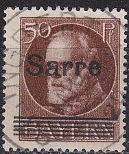 Buy GERMANY Saar [1920] MiNr 0025 ( O/used )