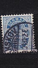 Buy DÄNEMARK DANMARK [1884] MiNr 0036 Z B ( O/used )