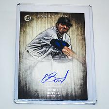 Buy MLB EDDIE BUTLER COLORADO ROCKIES AUTOGRAPHED 2014 BOWMAN INCEPTION BASEBALL MNT