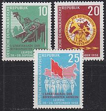 Buy GERMANY DDR [1958] MiNr 0657-59 ( **/mnh )