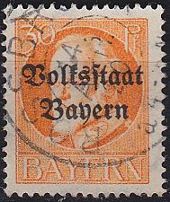 Buy GERMANY Bayern Bavaria [1919] MiNr 0123 A ( O/used )