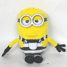 Buy Ty Beanie Babies Despicable Me 3 Tom Prison Stripes Plush Stuffed Animal 2017 6""
