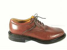 Buy Stafford Comfort Brown Leather Lace Up Oxford Casual Dress Shoes Men's 9 (SM4)