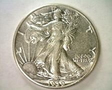 Buy 1939 WALKING LIBERTY HALF CHOICE ABOUT UNCIRCULATED CH.AU NICE ORIGINAL COIN