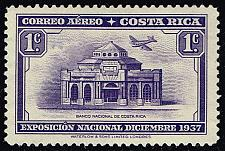 Buy Costa Rica #C35 National Bank; Unused (0.25) (4Stars) |COSC0035-01