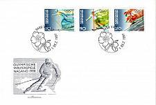 Buy LIECHTENSTEIN [1997] MiNr 1162-64 ( FDC ) Olympiade