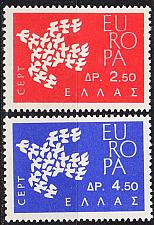 Buy GRIECHENLAND GREECE [1961] MiNr 0775-76 ( **/mnh ) CEPT