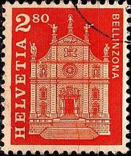 Buy SCHWEIZ SWITZERLAND [1963] MiNr 0767 ( O/used ) Architektur