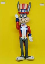 Buy VINTAGE 1975 BUGS BUNNY OFFICIALLY LICENSED PATRIOTIC 8 IN POSABLE FIGURINE RARE