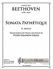 Buy Beethoven - Adagio from the Pathetique Sonata for Violin and Piano