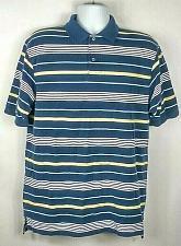 Buy Jos. A Bank Men's Polo Shirt Medium Striped Blue Yellow White