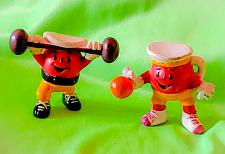 Buy VINTAGE LOT OF 2 198O's KOOL-AID EXERCISE ACTION FIGURES COOL