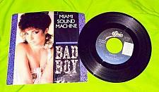 "Buy Vintage Miami Sound Machine BAD BOY Vinyl 7"" 45 RPM"